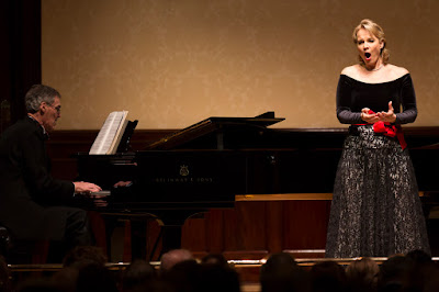 Elīna Garanča and  Roger Vignoles at Wigmore Hall (c) Simon Jay Price