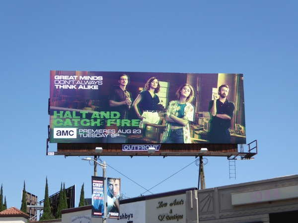 Halt and Catch Fire season 3 billboard