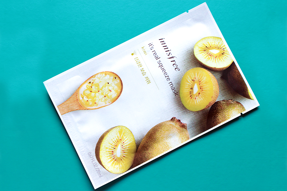 Innisfree It's Real Squeeze Mask Kiwi review