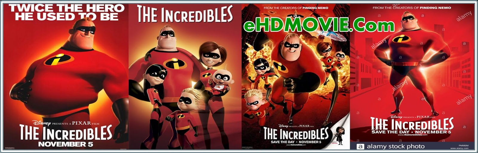 Incredibles 2 2018 Full Movie Dual Audio [Hindi – English] 720p - HEVC - 480p ORG BRRip 450MB - 600MB - 1GB ESubs Free Download