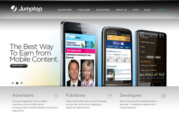 Jumptap mobile advertising