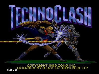 【MD】狂突戰士(Techno.Clash),動作闖關冒險遊戲!
