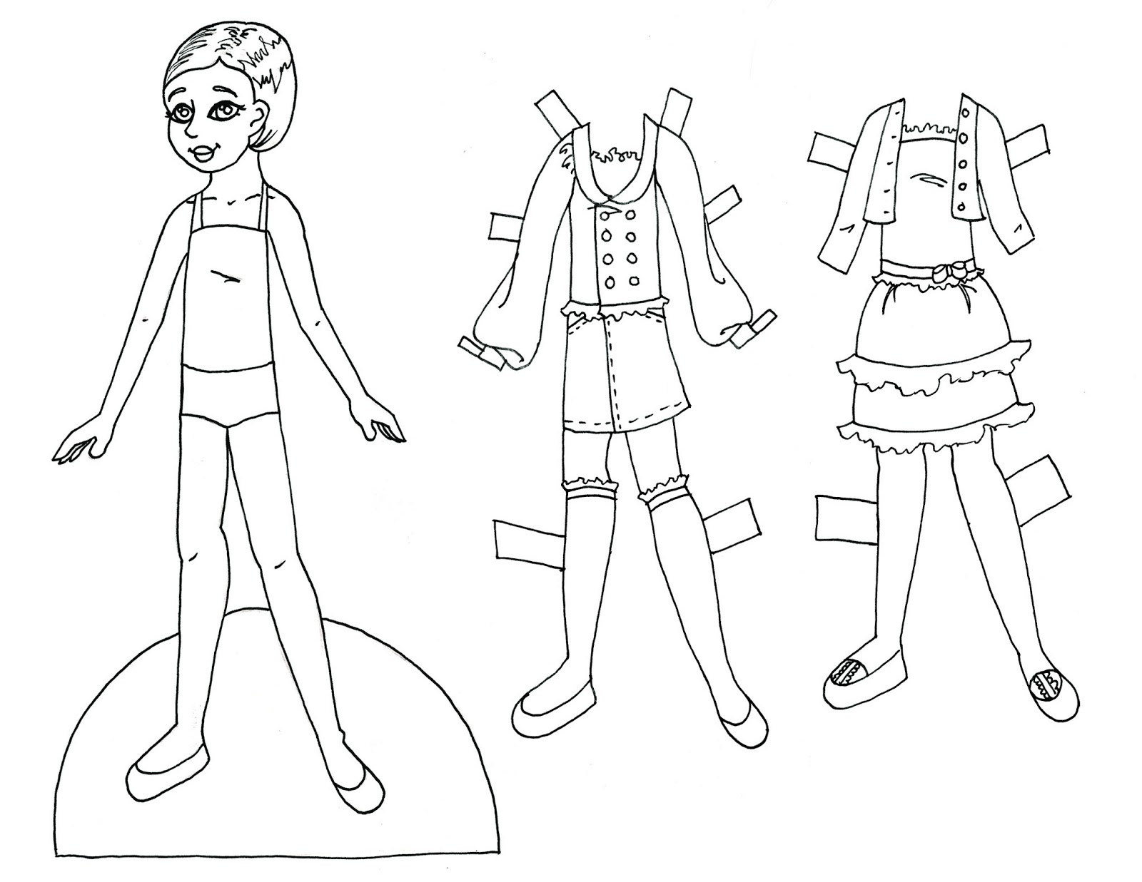 Paper Doll School: May 2013