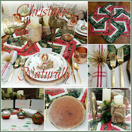 Christmas, Naturally Tablescape
