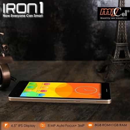 Mycell IRON 1 Smartphone