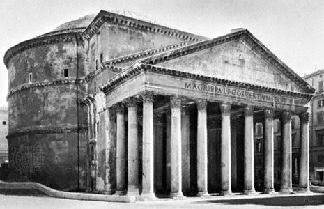 El Panteón de Roma: poderío constructivo