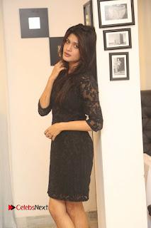 Actress Kimaya Phtoos in Black Short Dress at Kotha Kothaga Unnadi Press Meet 0007