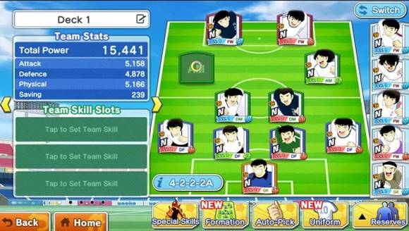 Free Download Captain Tsubasa: Dream Team v1.11.0 Mod Apk (Weak Enemy)