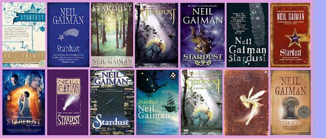 portadas del libro Stardust, de Neil Gaiman