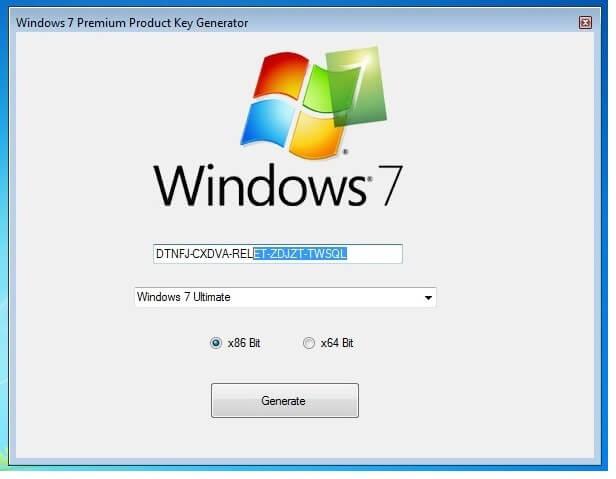 windows 7 keys list