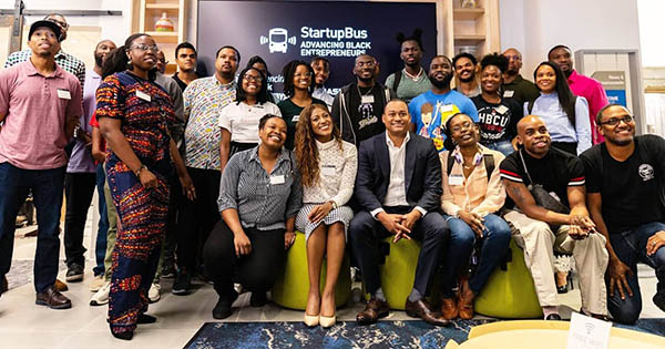 StartupBus Advancing Black Entrepreneurs program