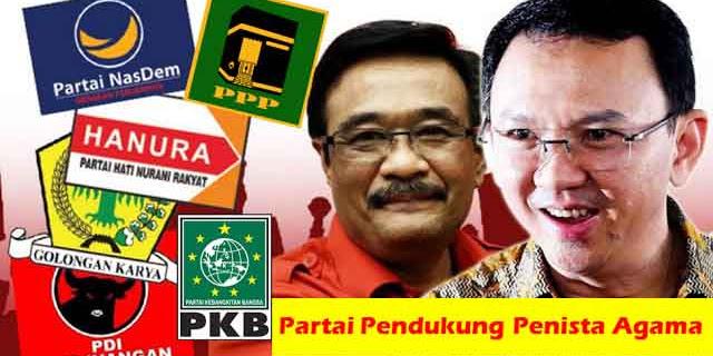 Partai Pendukung Penista Agama Akan Ditinggal Pemilihnya Pemilu 2019