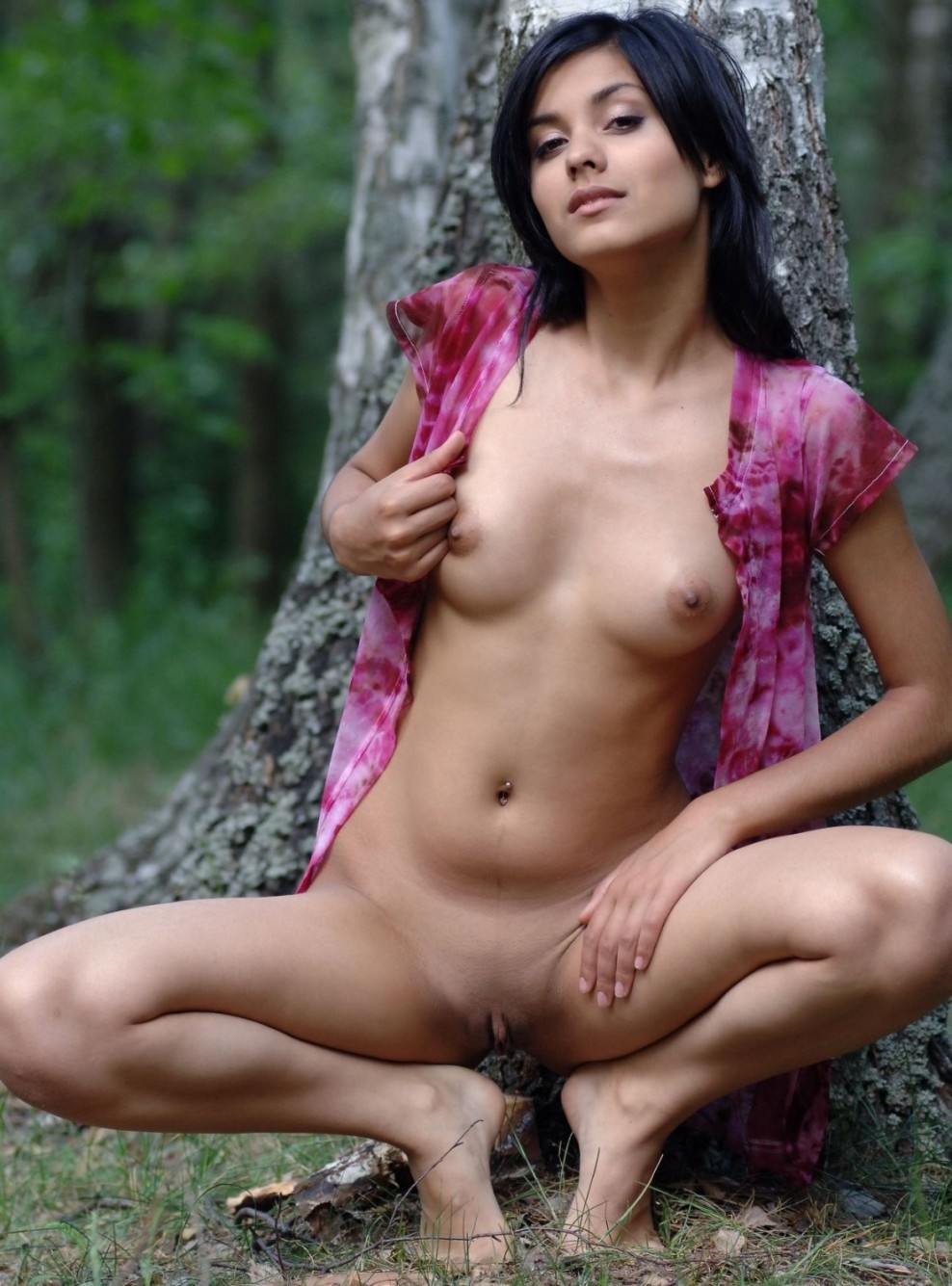 Hot  Spicy Beautiful Nude Girl-6939