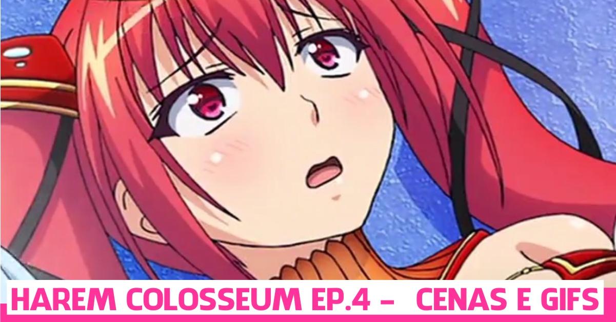 Tensei Kendo No Harem Colosseum episódio 4 - cenas e gifs