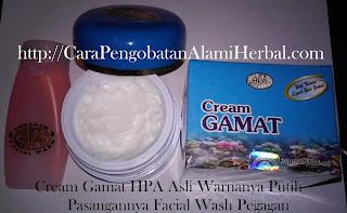 Obat cream GAMAT gold penghilang jerawat pemutih wajah alami herbal