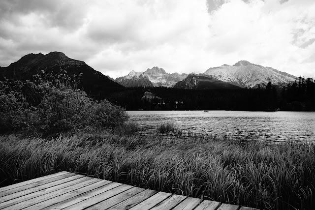 Szczyrbskie Jezioro, Tatry, Słowacja. Krajobraz, fotografia. fot. Łukasz Cyrus