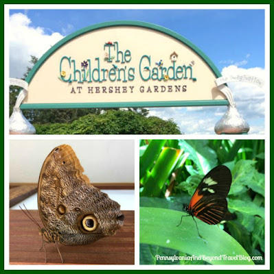 Hershey Gardens and Butterfly Atrium in Hershey, Pennsylvania