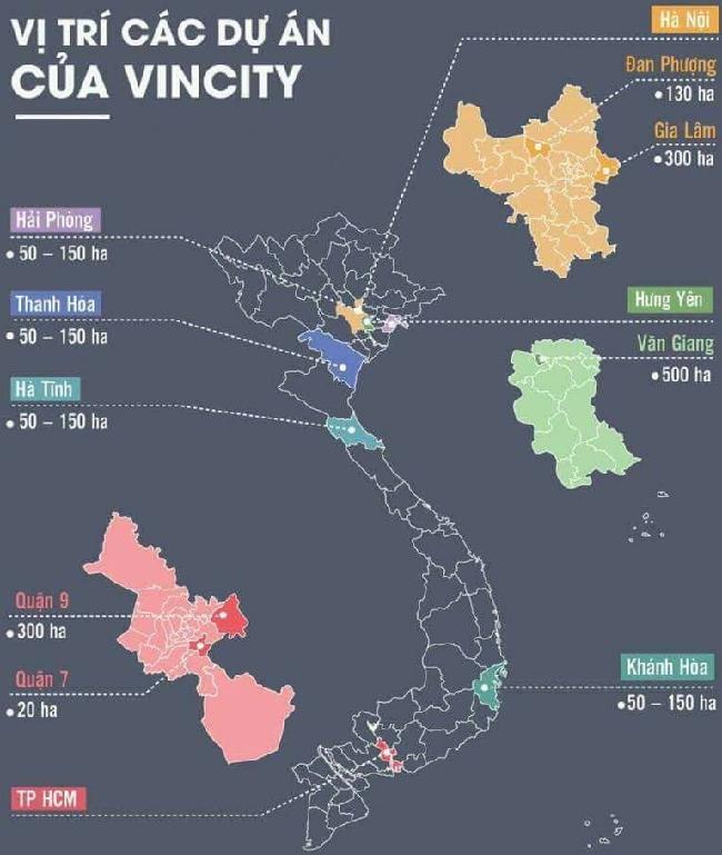 Vị trí dự án VinCity Hưng Yên