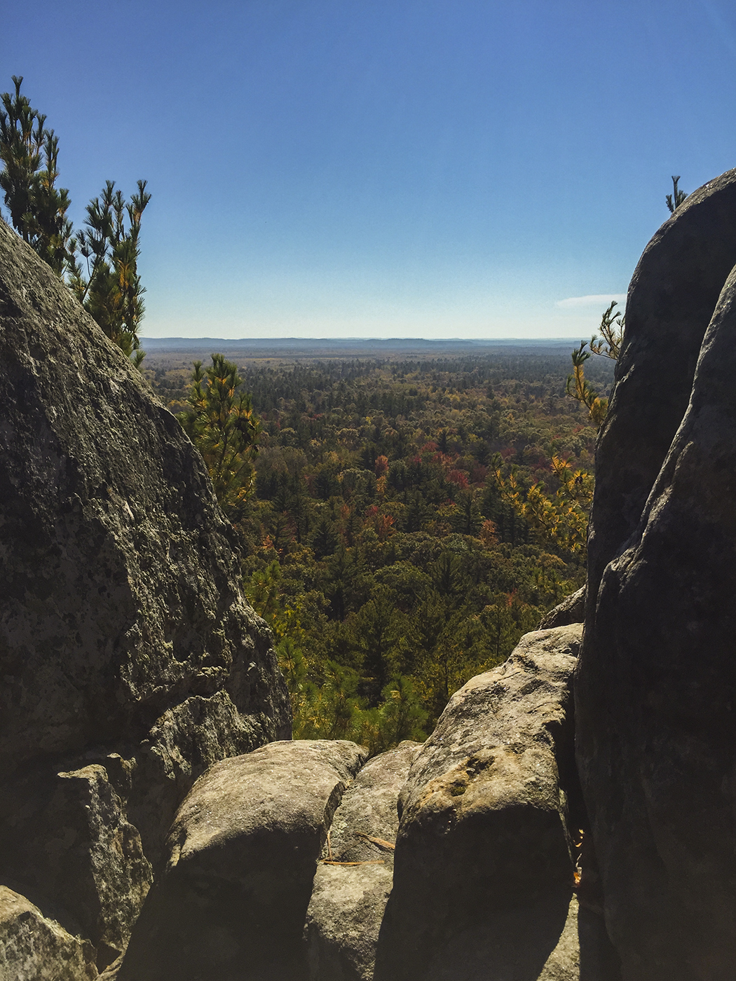 wisconsin explorer: the black river forest - hiking to castle mound