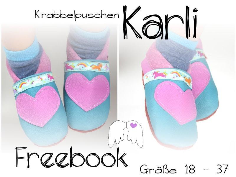 Engelinchen: Freebook: Krabbelpuschen / Lederpuschen \