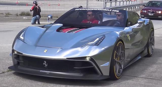 【動画】世界に数台しか存在しないフェラーリの特別モデル「F12 TRS」の走行シーン。