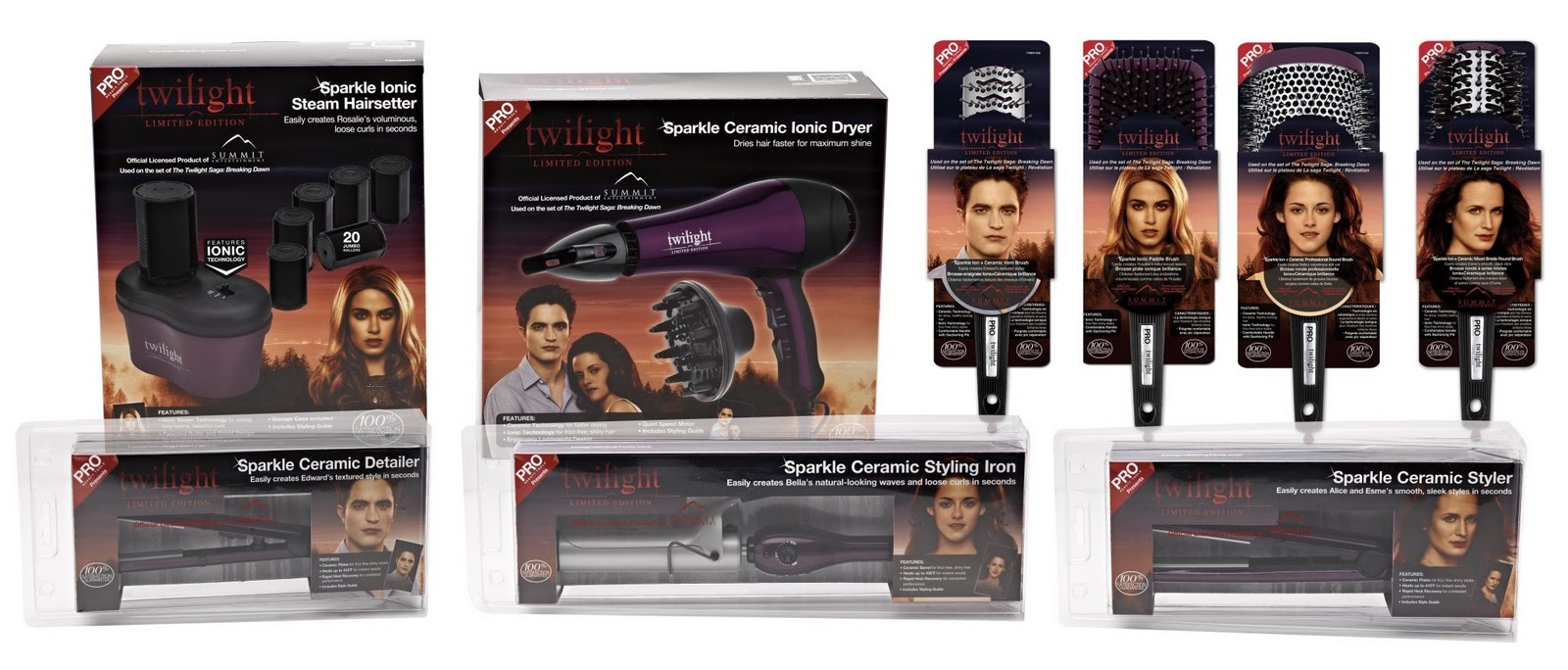 eternally yours twilight pro limited edition styling tools on sale now. Black Bedroom Furniture Sets. Home Design Ideas