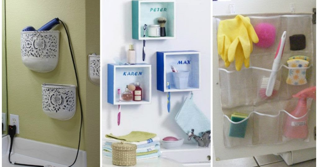29 Brilliant Bathroom Organization And Diy Storage Solutions Handy Diy