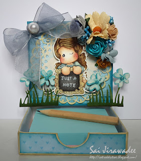 Magnolia Write A Message Tilda Easel Box