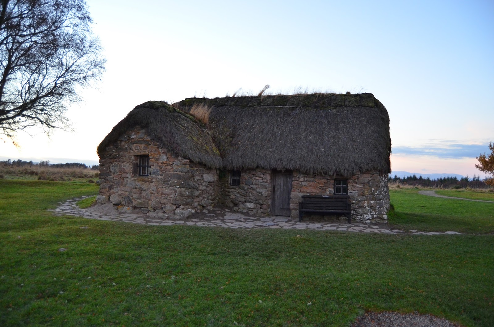 Old Leanach Cottage Culloden Battlefield Outlander Season 3