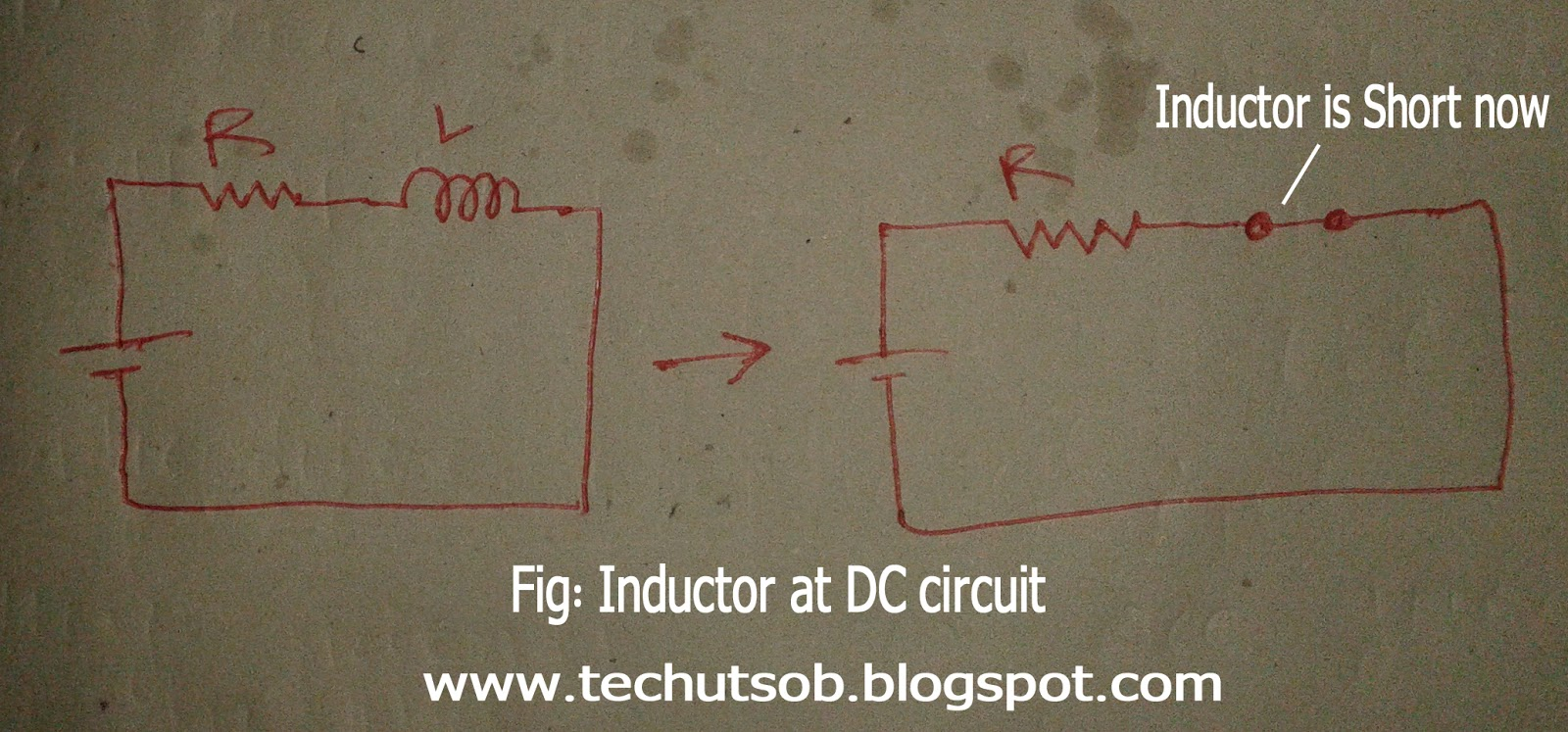 Techutsobcom Dc Circuit Calculations What I Should Do If See Inductor Capacitor At