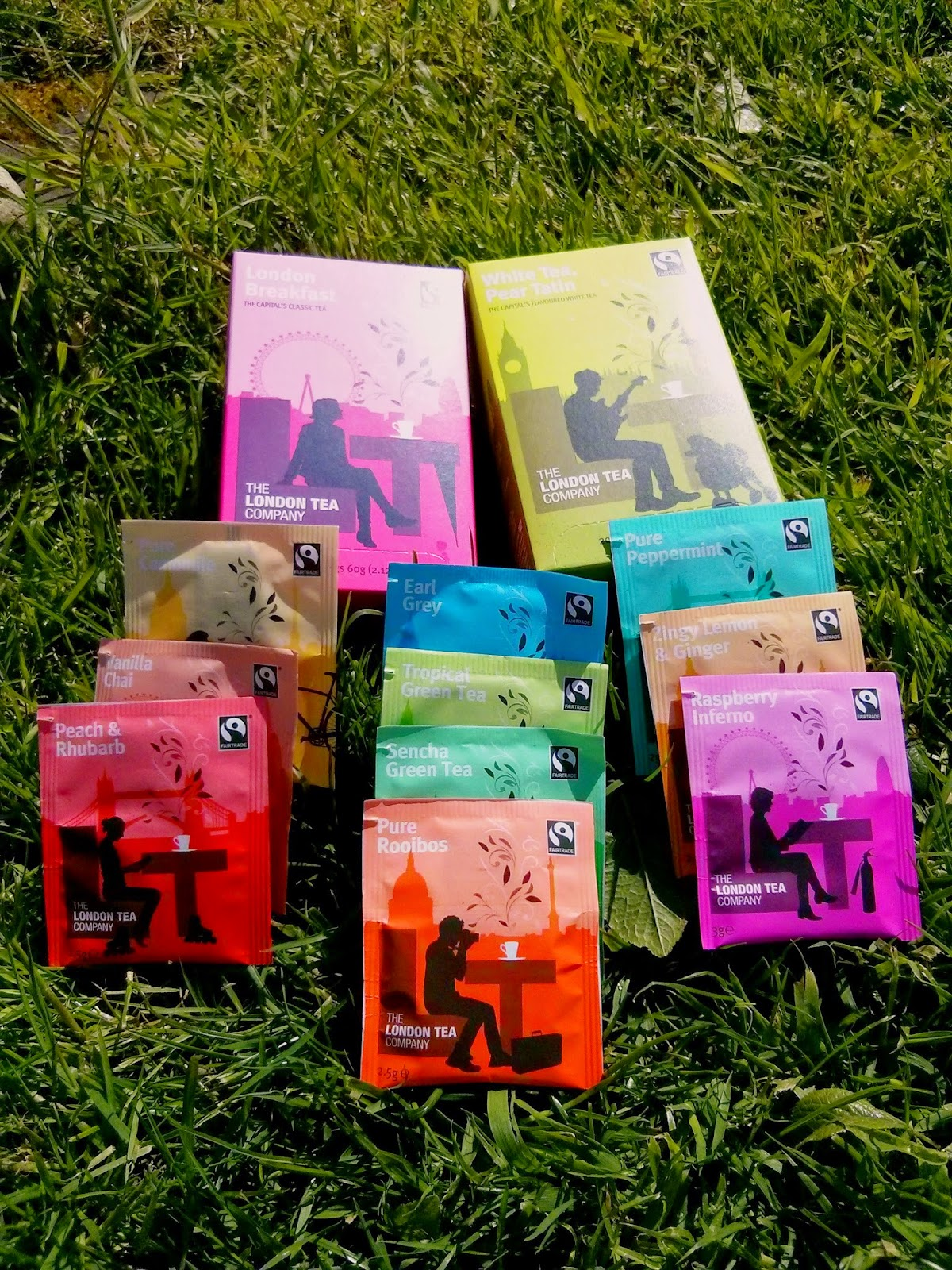 A selection of the London Tea Company range