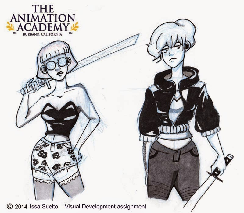 The Animation Academy: Art Of The Week