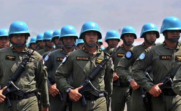 Satgas Heli Pertama Indonesia ke Kongo