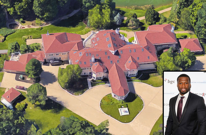 Stella Dimoko 50 Cent 39 S 52 Room Mansion Sold