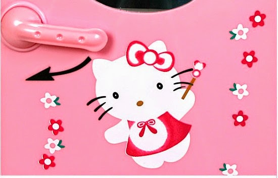 Hello Kitty Portable Mini Refrigerator 4l 1 Year Warranty