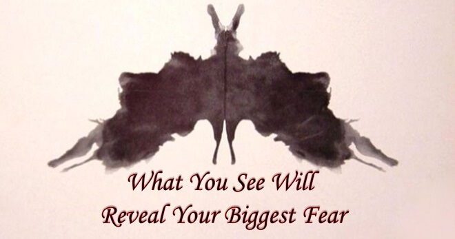 Quiz: This Ink-Blot Test Will Reveal Your Biggest Fear In Life