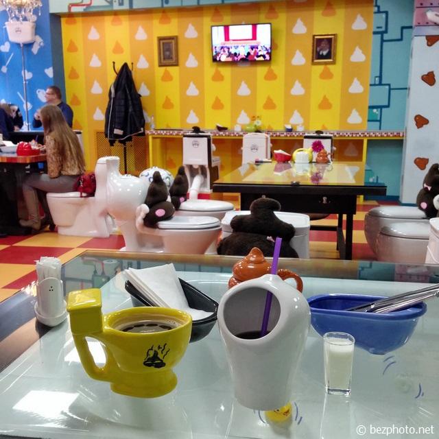 кафе crazy toilet в москве