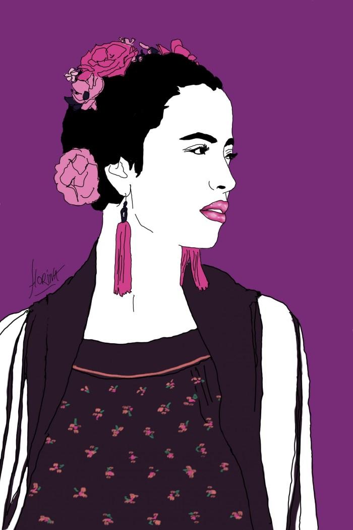 Проект под названием Фрида Кало.