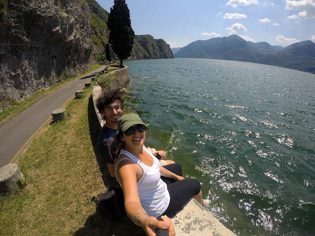 pista ciclopedonale vello-toline lago d'Iseo