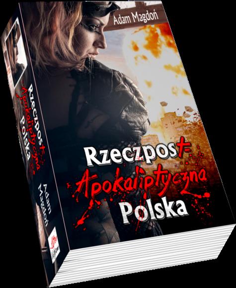 Książka RzeczPostApokaliptyczna by Adam Magdoń – wizualizacja