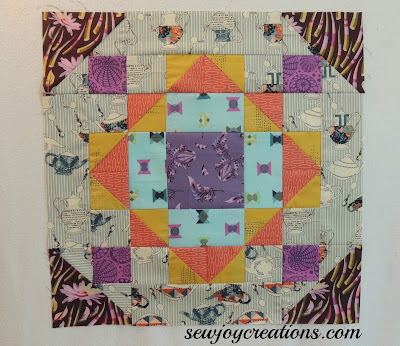My Secret Garden by Pat Sloan bonus block for September