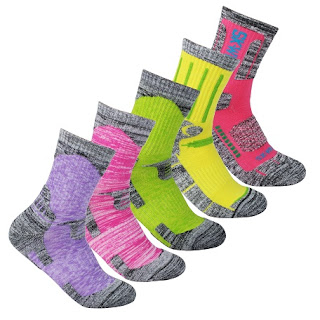 Multi Performance Cushion Hiking Outdoor Sport Crew Socks