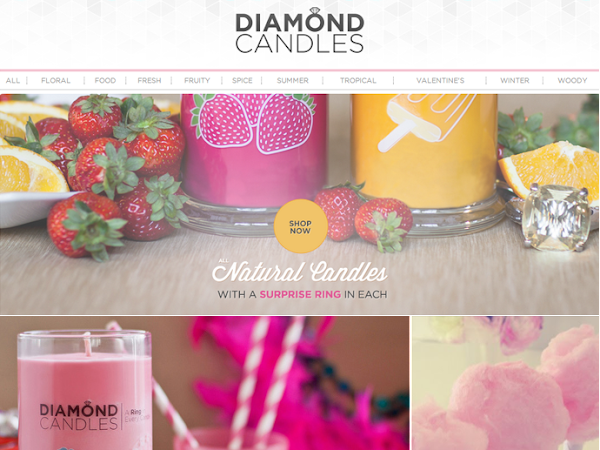 Diamond Candle Giveaway & Review