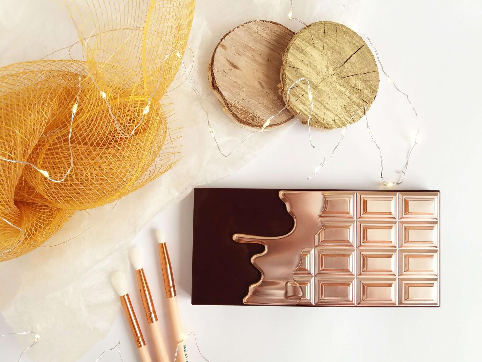 Paleta cieni I Heart Makeup Chocolate Elixir - czy naprawdę pachnie czekoladą?
