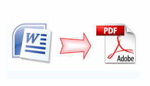 convert microsoft word to pdf file