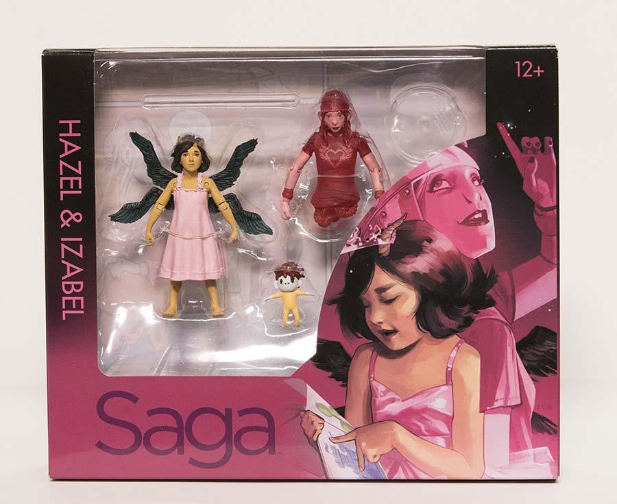 SAGA Hazel /& Izabel Action Figure 2-Pack