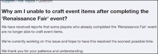 Unable to craft items in FVCE2