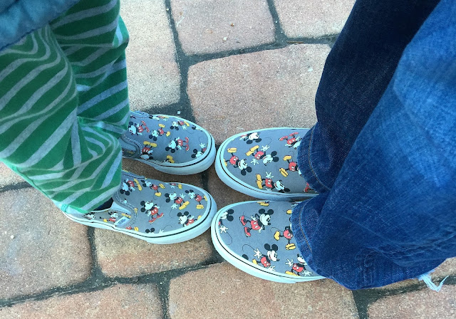 disney and vans shoes