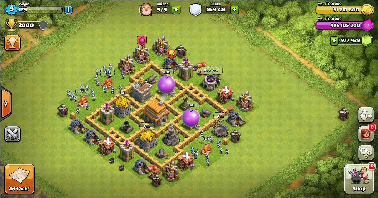 Base Coc Th 5 Terkuat Dan Susah Dibobol 6