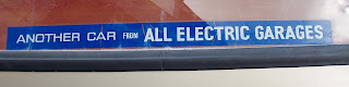 All Electric Garages rear screen sticker